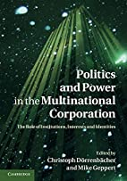 Politics and Power in the Multinational…