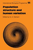 Population structure and human variation by…