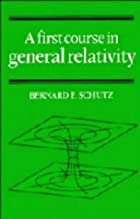 A First Course in General Relativity by…