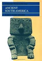 Ancient South America (Cambridge World…