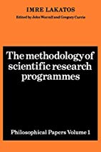 The Methodology of Scientific Research…