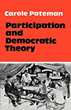 Participation and Democratic Theory by…