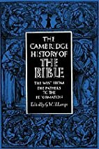 The Cambridge History of the Bible: Volume…