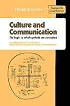 Culture and Communication: The Logic by…