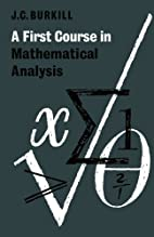 A First Course in Mathematical Analysis by…