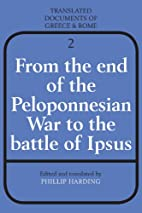 From the End of the Peloponnesian War to the…