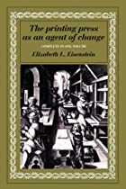 The printing press as an agent of change…
