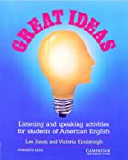 Great Ideas Student's book: Listening…