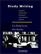Study Writing: A Course in Written English…