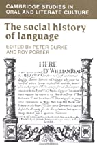 The Social History of Language (Cambridge…