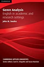 Genre Analysis: English in Academic and…