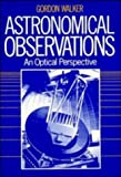 Walker, Gordon: Astronomical Observations