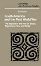 South America and the First World War : the…