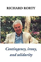 Contingency, Irony, and Solidarity by…