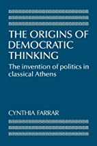 The Origins of Democratic Thinking: The…