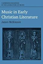 Music in Early Christian Literature…