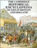 The Cambridge Historical Encyclopedia of…