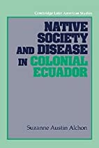 Native Society And Disease In Colonial…