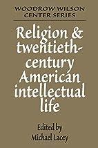 Religion and Twentieth-Century American…