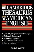 The Cambridge Thesaurus of American English…