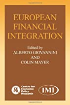 European Financial Integration by Alberto…