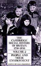 The Cambridge Social History of Britain,…