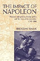 The Impact of Napoleon: Prussian High…