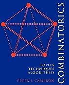 Combinatorics: Topics, Techniques,…