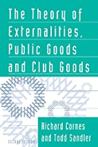 The Theory of Externalities, Public Goods…