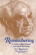 Remembering: A Study in Experimental and…