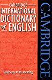 [???]: Cambridge International Dictionary of English