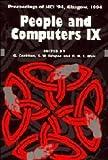 Cockton, Gilbert: People and Computers IX (British Computer Society Conference)