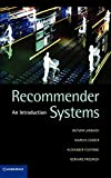 Jannach, Dietmar: Recommender Systems: An Introduction