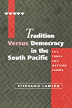 Tradition versus democracy in the South…