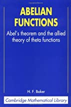 Abelian functions : Abel's theorem and the…