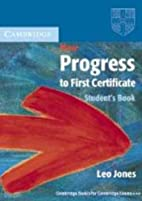 New Progress to First Certificate Student's…