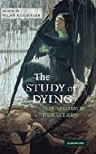 The Study of Dying: From Autonomy to…
