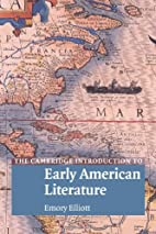 The Cambridge Introduction to Early American…