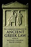 Gagarin, Michael: The Cambridge Companion To Ancient Greek Law