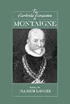 The Cambridge Companion to Montaigne by…