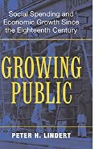 Growing Public : Social Spending and…