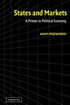 States and Markets: A Primer in Political…