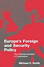 Europe's foreign and security policy : the…