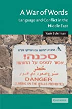 A War of Words: Language and Conflict in the…
