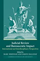 Judicial Review and Bureaucratic Impact:…