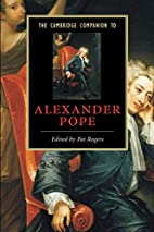 The Cambridge Companion to Alexander Pope by…