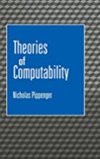 Theories of Computability by Nicholas…