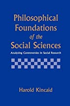 Philosophical Foundations of the Social…