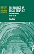 The Politics of Social Conflict: The Peak…