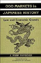 Odd Markets in Japanese History: Law and…